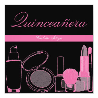 Quinceanera 15th Birthday Party Invitations