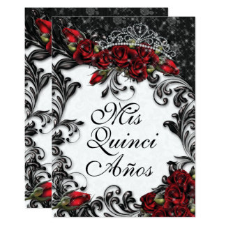 Quinceañera and Sweet 16 Party Invitations