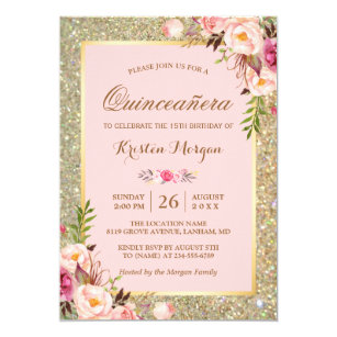 quinceañera invitations zazzle ca