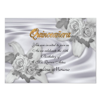 Quinceanera invitation 15th Birthday elegant