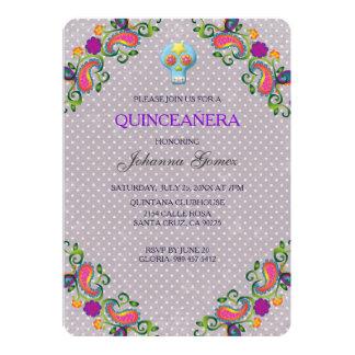 QUINCEAÑERA INVITATION DIA DE LOS MUERTOS