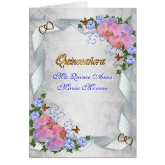 Quinceanera invitation Mis Quince Anos 15th