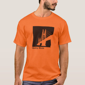 Quincy, Illinois Bayview Bridge T-Shirt
