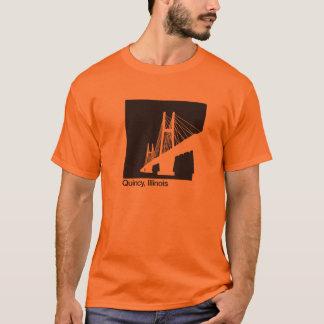 Quincy, Illinois Bayview Bridge T-Shirt