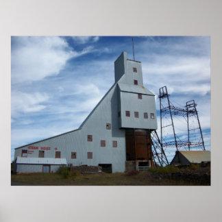 Quincy Mine Steam Hoist Photo Poster