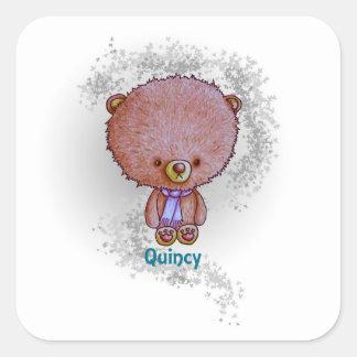 Quincy Square Sticker