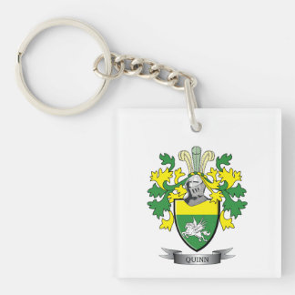 Quinn Coat of Arms Keychain