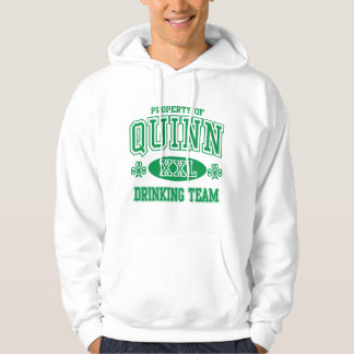 Quinn Irish Drinking Team Hoodie