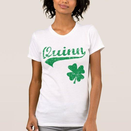 Quinn Irish Shamrock T-Shirt