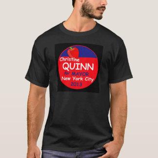 Quinn NYC Mayor 2013 T-Shirt