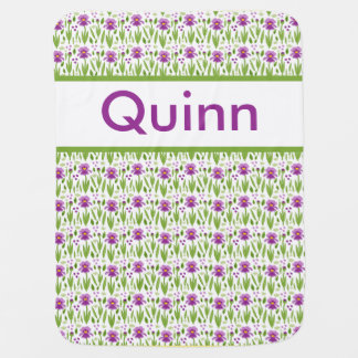 Quinn's Personalized Iris Blanket