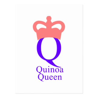 Quinoa Queen Postcard