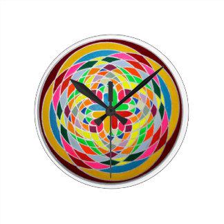 Quintessence Round Clock
