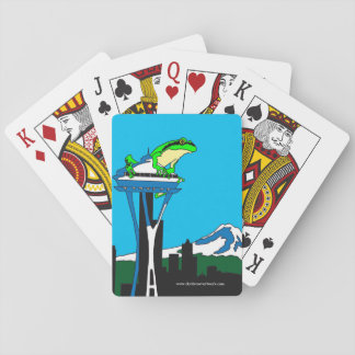 Quintessential Seattle, Washington Playing Cards