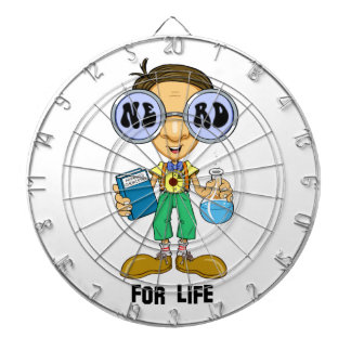 Quirky character products  Nerd for Life (Zebart) Dart Board