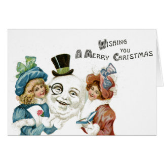 Quirky Christmas Card Weird Kitch Unusual Greeting