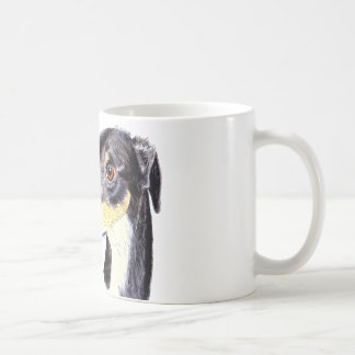 Quirky funny lurcher dog coffee mug