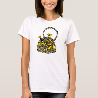 Quirky Kettle Zenscrawl T-Shirt