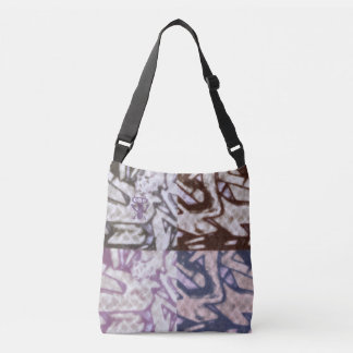 Quirky Monster #26 - All-Over-Print Cross Body Bag
