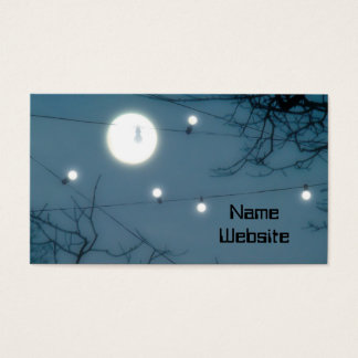Quirky Moon Business Card