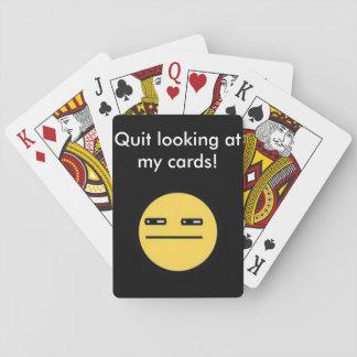 Quit looking at My Cards Deck! - Kool Kardz