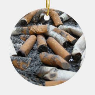 quit smoking! Ashtray Ceramic Ornament