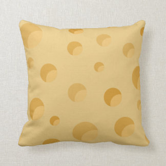 Quite Cheesy Throw Pillow