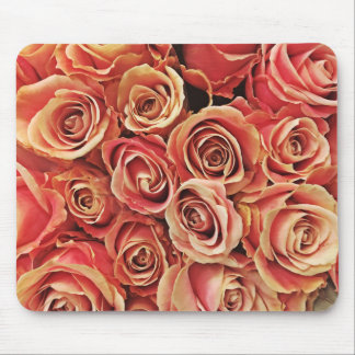 Quite Colorful Roses Mouse Pad