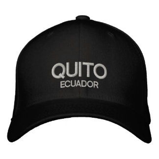 quito Ecuador Personalized Adjustable Hat