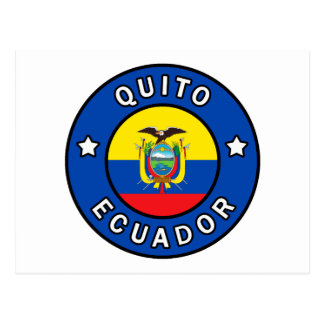 Quito Ecuador Postcard