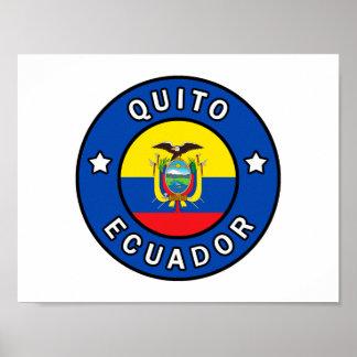 Quito Ecuador Poster