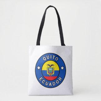 Quito Ecuador Tote Bag