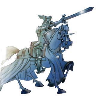 QUIXOTE FANTASY KNIGHT- Sculpture -400 YEARS Photo Sculpture Magnet