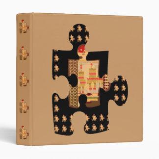 QUIZ Graphic Smart Unique make it your STYLE Vinyl Binder
