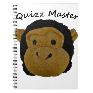 Quizz Master Notebook