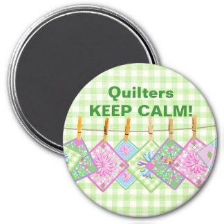 Qulter's Keep Calm - Magnet