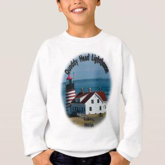 Quoddy Head Lighthouse Sweatshirt
