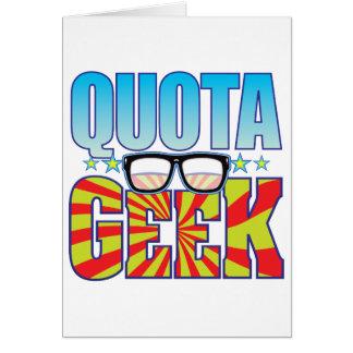 Quota Geek v4 Card