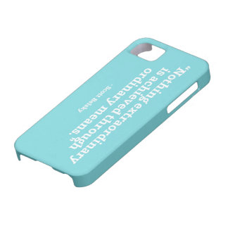 Quote 1 iPhone 5 cover