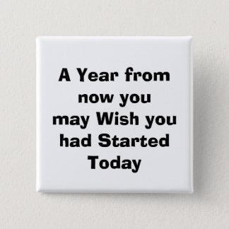 quote, 2 inch square button