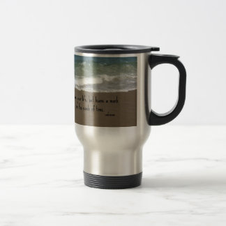 """Quote about life: """"Live your life, but leave a..."""" Mug"""