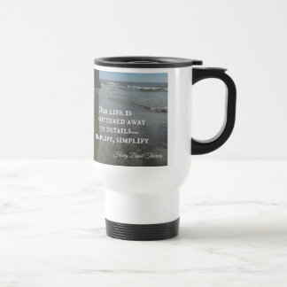 Quote about simplifing life mugs