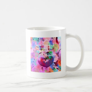 Quote about stroke of luck. coffee mug