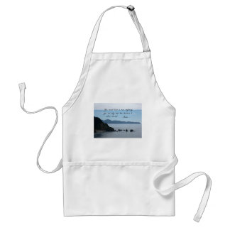 Quote by Galileo: You cannot teach a man anything Standard Apron