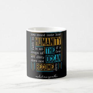 Quote by Mahatma Gandhi Coffee Mug
