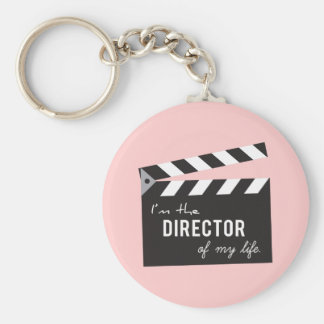Quote, Director of my life, Action Board Keychain