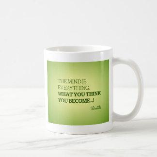 Quote from Buddha Coffee Mug