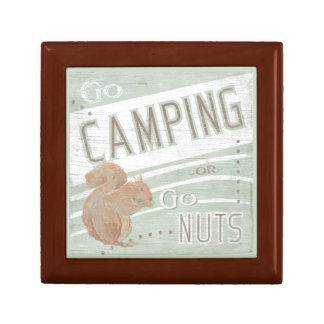 Quote | Go Camping, Or Go Nuts Gift Box
