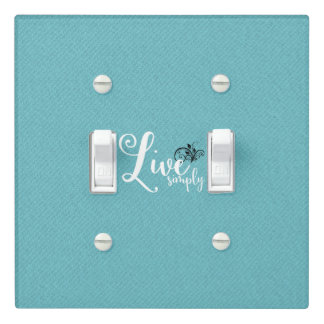"""Quote """"Live Simply"""" 
