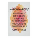 Quote - Math Posters